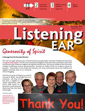 2012 Winter Newsletter